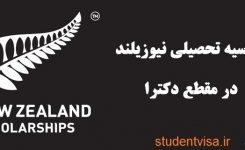 چگونه میتوانیم در نیوزیلند بورسیه شویم؟